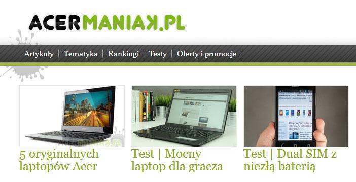 Case: blog dla Acer [infografika]